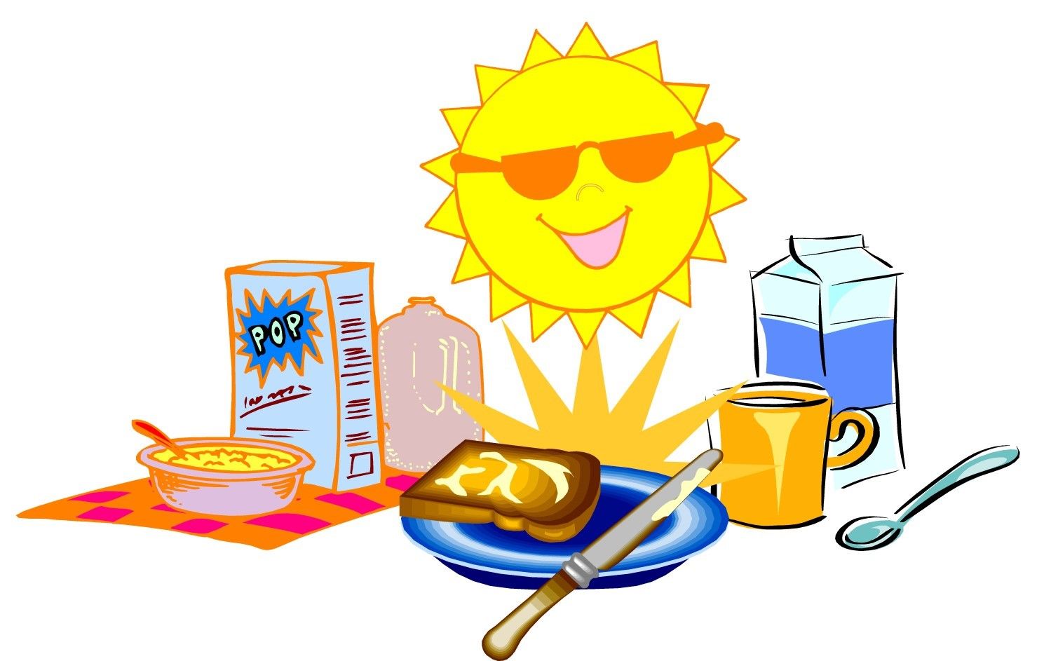 Image result for school breakfast club clipart